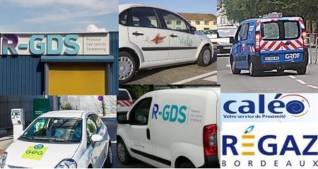 ELD gaz - RGDS, Vialis, GEG, Caléo, Régaz, Gaz de Barr