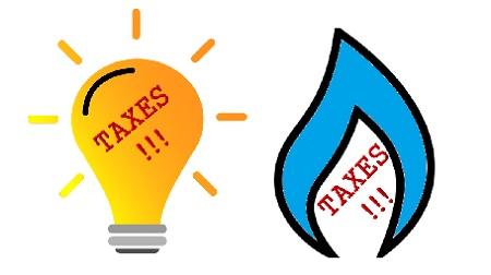Les differentes taxes sur le gaz et electricite