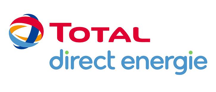 Nouveau logo de total direct energie